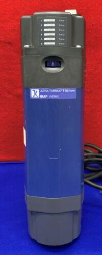 IKA WORKS T50 BASIC TURRAX HOMOGENIZER MIXER 115V SPEED:4000-10,000RPM