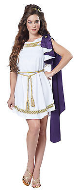 Grecian Toga Greek Roman 300 Goddess Adult Costume