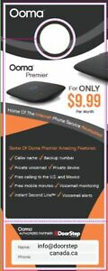 Ooma Home Phone, Internet services
