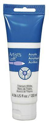 Artist's Loft Acrylic Paint, 4 oz (Titanium White) - White Acrylic Paint