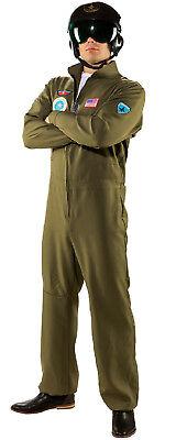 Jet Pilot Pilotenkostüm Armee Anzug Kostüm Uniform Jetfighter Flieger - Pilot Overall Kostüm