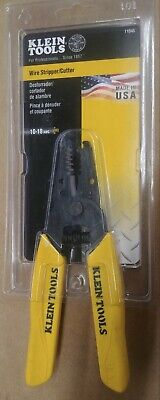 Klein Tools 11045 Wire Strippercutter-10-18 Awg Solid Brand New