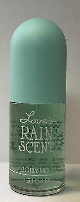 Love's by Dana  Rain Scent  Body Mist Spray 1.5 fl oz in glass bottle