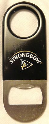 Strongbow Cider - Strongbow Hard Cider Beer - Mini Bartender Bottle Opener - Rubber Coated - NICE