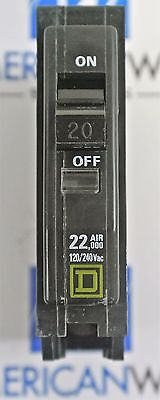 Qo120vh Square D Type Qo Plug In 20 Amp 1 Pole 22ka Circuit Breaker