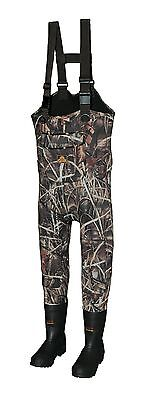 Pro Gear Proline Hunting Chest Waders Regular Fit YOUTH Boot Size 5 Max 4 600G