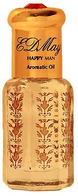 EDMay HAPPY MAN Cedar Fragrance & Aromatic Body Oil Skin-safe Cologne 6 ml... Aromatic Cedar Oil