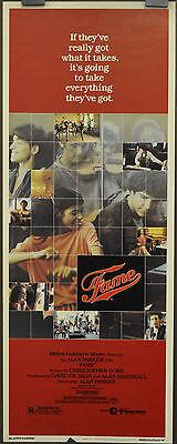 FAME  1980 ORIGINAL 14X36 MOVIE POSTER IRENE CARA EDDIE BARTH LEE CURRERI