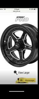 Street pro wheels suit hk ht hg lj lc lx lh etc early Holden