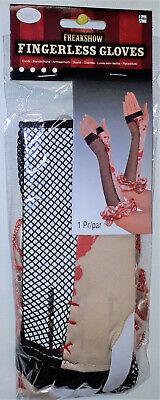 Blutige fingerlose Handschuhe für Kostüm  Halloween Freakshow