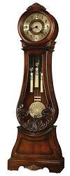 Howard Miller 611-082 (611082) Diana Grandfather Floor Clock - Embassy Cherry