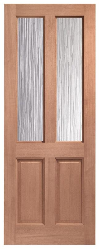 Double glazed back door ebay for Double doors for back door