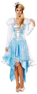 Anastasia Russin Kosakin Rokoko Schnee Königin Eis Prinzessin Belle Kleid Kostüm