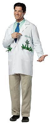 COAT WEED POT LEAF GANJA MON MARIJUANA FUN COSTUME GC6942 (Weed Leaf Kostüm)