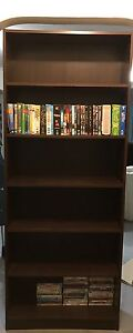 Bookcase black brown Epping Ryde Area Preview