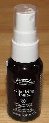 Aveda Volumizing Tonic Spray 1.4 Oz 40 mL Travel Size Aloe Weightless Shine Aveda Volumizing Tonic