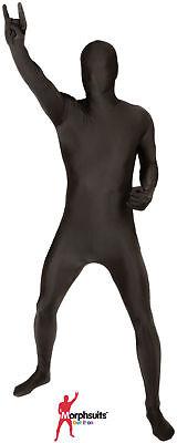 Original Morphsuits Black Adult Suit Solid Morphsuit Bodysuit