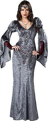 Adult Dark Medieval Maiden Maid Marian Renaissance Costume  - Maid Marian Costumes