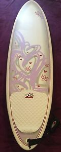 NSP 7ft 2in Surf Betty Surfboard with leg rope and cover Nambour Maroochydore Area Preview