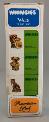 OLD WADE WHIMSIES (ENGLAND) - BOXED SET OF 5 - IN MINT / NEW CONDITION set 7/10