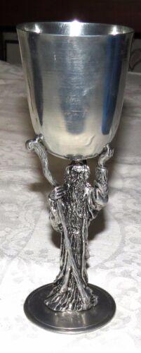 Ballena Bay Gandalf Pewter Mug Goblet: Hand-made by Rivas 1982