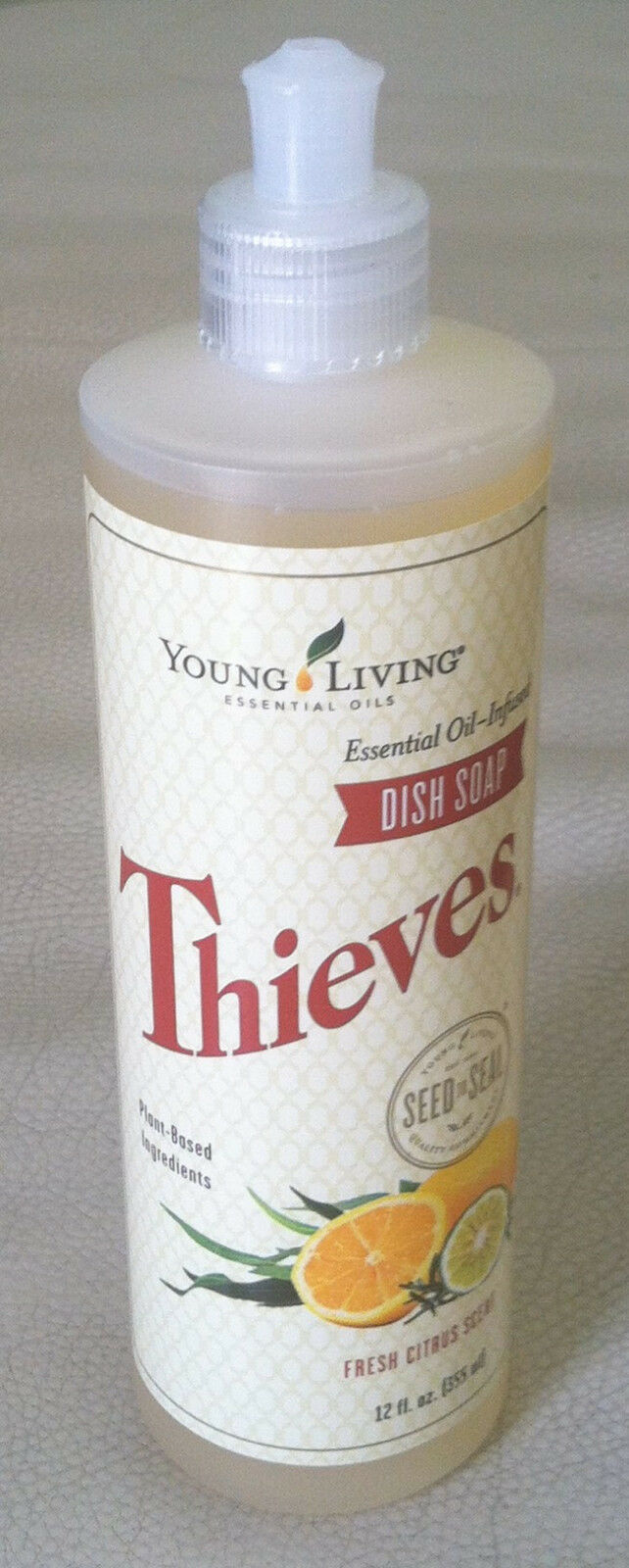 Young Living Essential Oils - Thieves Dish Soap - 12 fl oz - NEW
