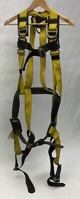 Miller 8714 Fully Body Safety Harness 400lb Used Made In Usa