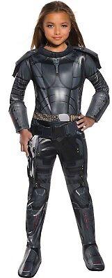 Silver Space Suit Costume (Girls Deluxe Laureline Valerian - Superhero - Space Suit - Halloween)
