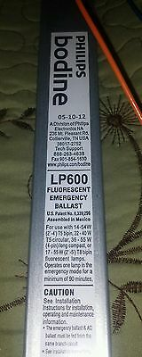 Lof Of 2 Bodine Emergency Lighting Electronic Ballast 120-277 Volts Lp600