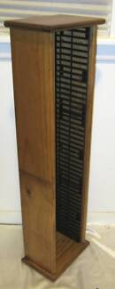 Large Pine Timber DVD Rack Holder South Windsor Hawkesbury Area Preview