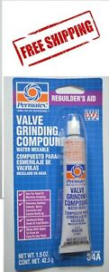 Permatex 80036 VALVE GRINDING COMPOUND 1.5 oz. Tube MADE IN USA Free Shipping