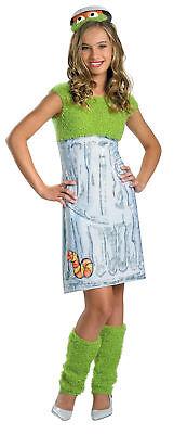 Sesame Street Oscar Child Girls Costume Headband Halloween Fancy Dress Disguise - Oscar Halloween Costume