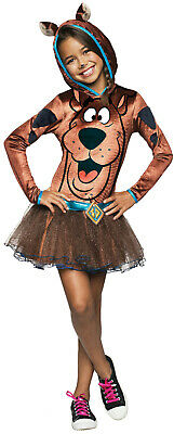 Scooby Doo Hooded Girls Costume Size Medium - Scooby Doo Girls