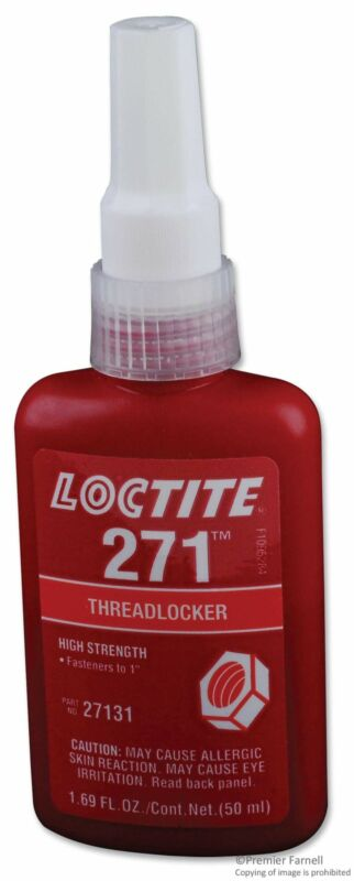 SEPTLS44227131 - Loctite 271 High Strength Threadlockers - 27131