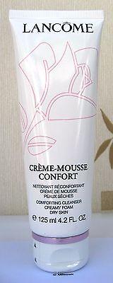 Lancome Creme Mousse Confort 125ml Size New & Sealed - FREEPOST UK