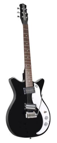 Danelectro DC59XT Dano 59 BLACK Double Cutaway Electric Guitar with Tremolo Arm