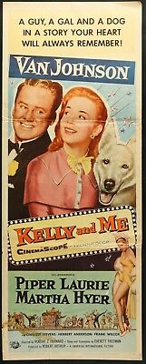 Kelly and Me (1957) original insert movie poster -  Van Johnson - Piper Laurie