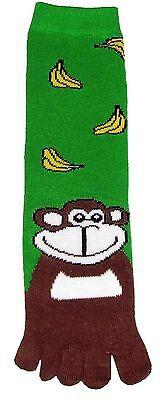 (Monkey (TS011) Toe Socks New Gift Fun Unique Cute)