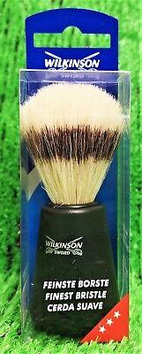 Borste Rasierpinsel (Wilkinson Sword Rasierpinsel feinste Borste NEUWARE  kostenloser Versand in DE!)