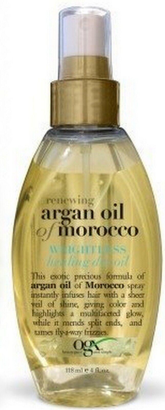 OGX Organix Argan Oil of Morocco WEIGHTLESS Healing 4oz