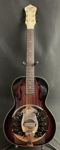 Recording King RR-41-VS Rattlesnake Small Body Resonator Guitar Vintage Sunburst