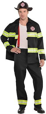 erwehr Kostüm für Herren NEU - Herren Karneval Fasching Verk (Fire Fighter Kostüme)