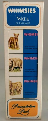 OLD WADE WHIMSIES (ENGLAND) - BOXED SET OF 5 - IN MINT / NEW CONDITION set 3/10