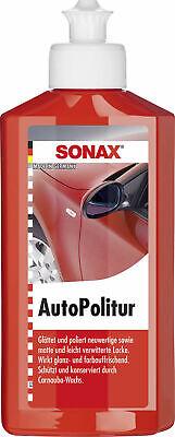 SONAX AutoPolitur, 500ml neuwertige, leicht verwitterte Bunt- und Metallic-Lacke