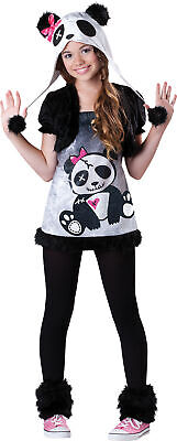 Safari Girl Costume (Pandamonium Tween Girls Costume Teen Safari Mascot Animal Party)