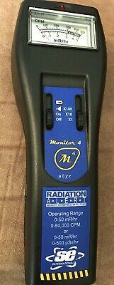 Radiation Alert Monitor 4 Cpm Sn 801012