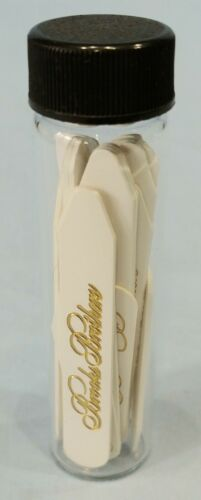 Vintage Brooks Brothers Plastic Collar Stays Assorted Sizes