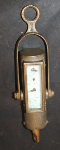 ANTIQUE BRASS JOHN BLISS & Co TAFFRAIL LOG Patent 1885 121 Old Rare