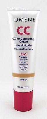 Lumene Time Freeze Cc Anti Age Color Correcting Cream  Choose Your Shade  30 Ml