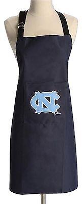 North Carolina Tar Heels Kitchen Apron NC Logo Front Pocket